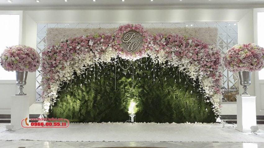 Backdrop chụp ảnh cưới