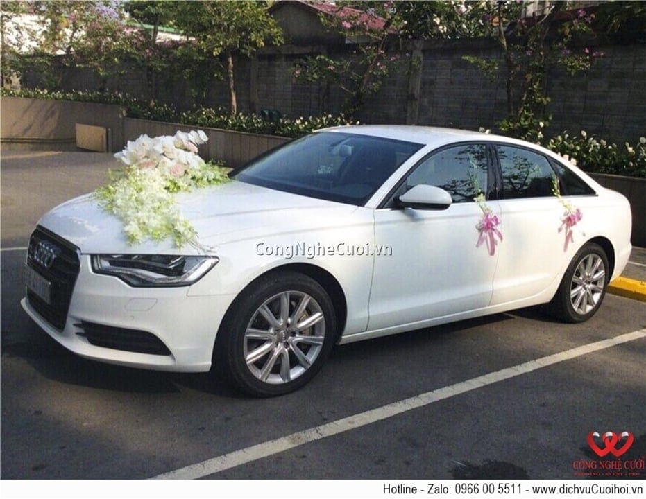 Cho thuê xe cưới - Audi A6