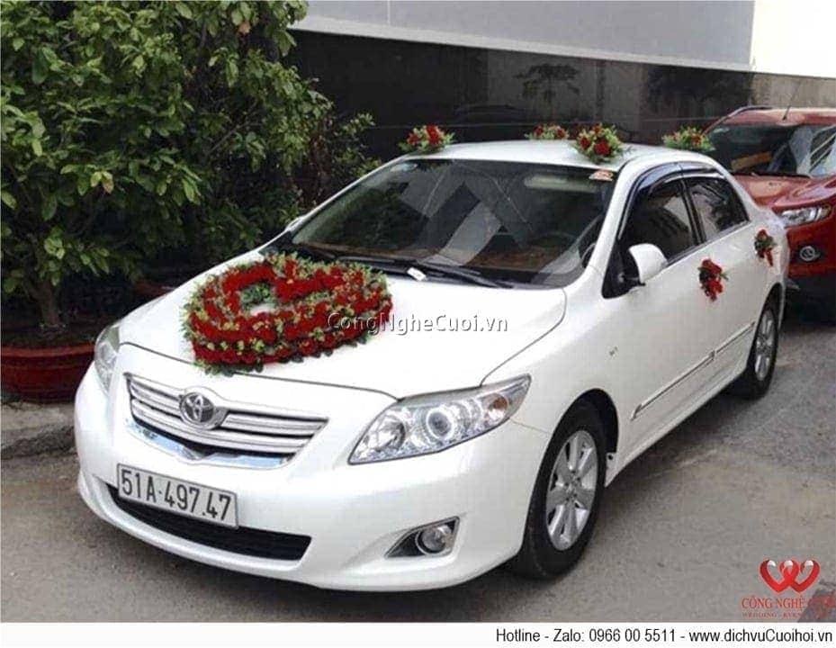 Cho thuê xe cưới - Toyota Altis