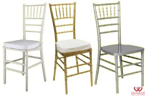 Cho thuê ghế Tiffany màu vàng