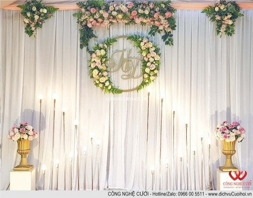 Dịch vụ cưới hỏi trang trí tổ chức đám cưới tại nhà trọn gói