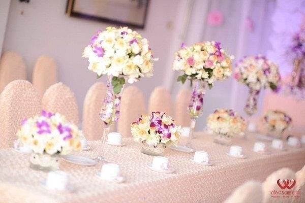 Trang trí lễ gia tiên, trang trí tiệc cưới, dịch vụ cưới hỏi trọn gói