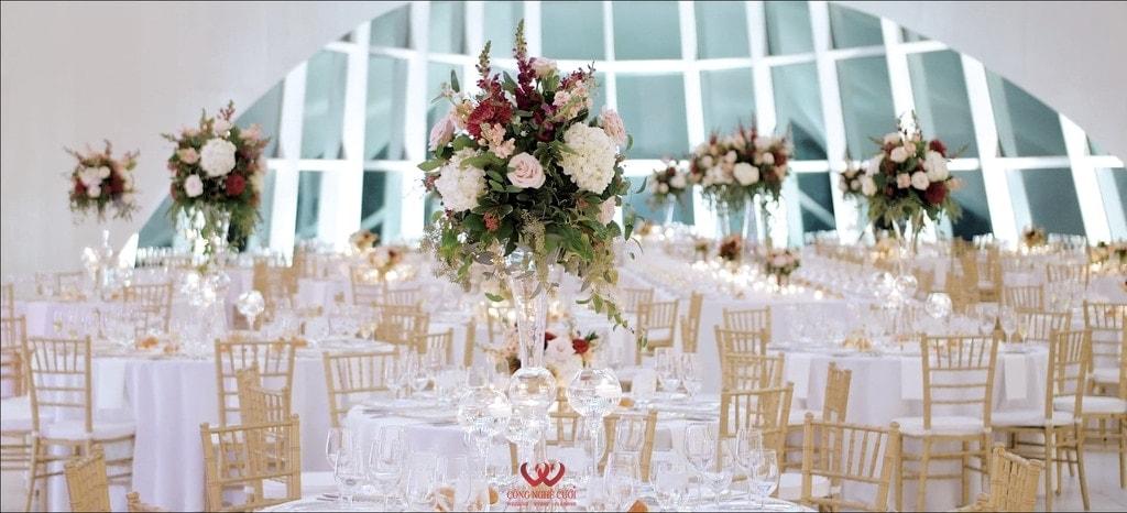 Cho thuê bàn ghế đám cưới cao cấp