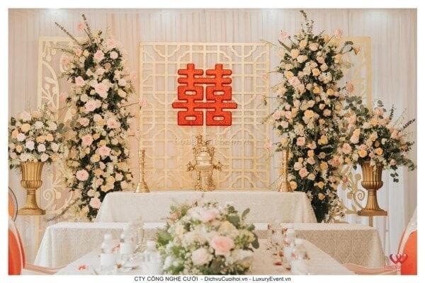 Trang trí lễ gia tiên, dịch vụ cưới hỏi trọn gói